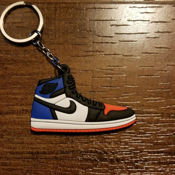70dccb26149 ... authentic jordan 1 retro top 3 shoe keychain 0da74 1e8ee